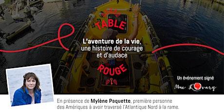 Table Rouge ✦ L'aventure de la vie, une histoire de courage et d'audace billets