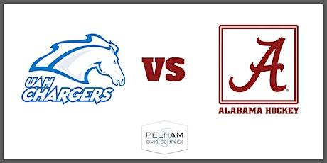 Alabama Hockey (D2) vs UAH tickets