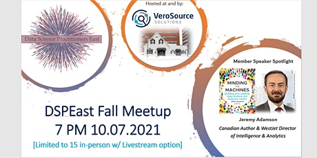 Data Science Practitioners East Fall 2021 Meetup (In-Person & Virtual) tickets