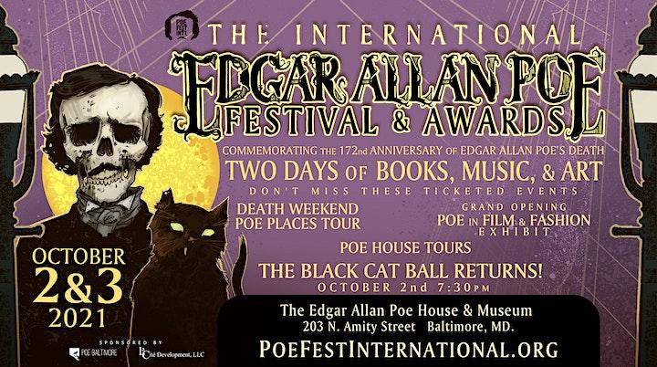 Edgar Allan Poe Funeral, Film & Fashion Exhibit (extended!) image