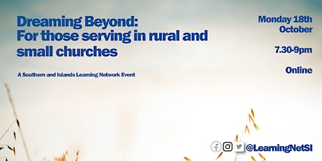 Dreaming Beyond – for those serving in rural and small churches tickets