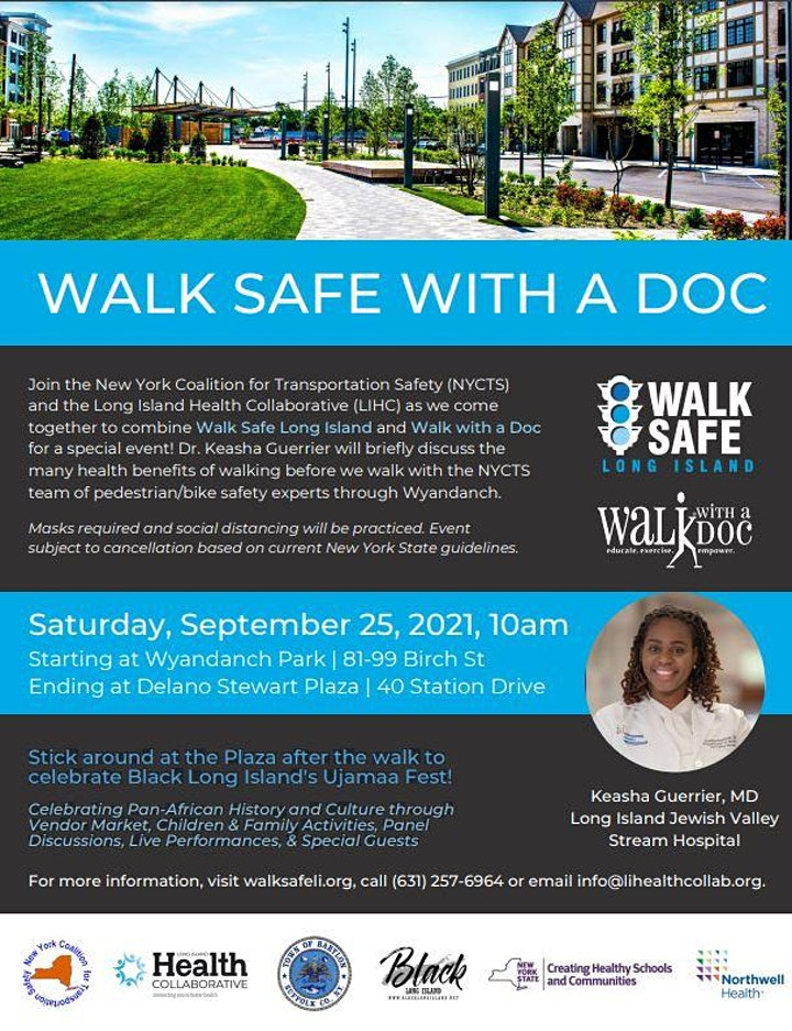 Walk Safe with a Doc Wyandanch image