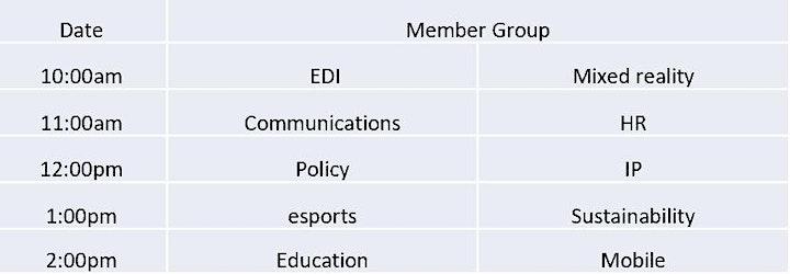 Ukie Annual General Meeting (AGM) & Members Day 2021 image