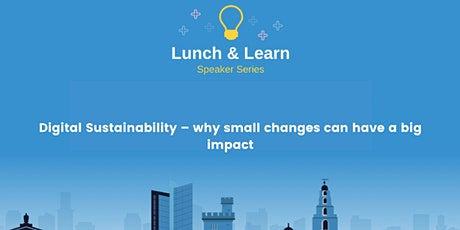 Digital Sustainability – why small changes can have a big impact tickets