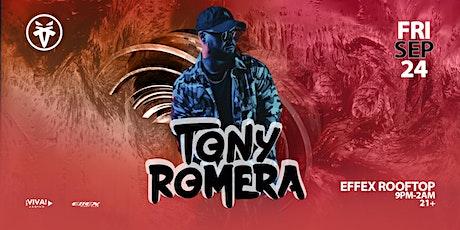 Tony Romera at Effex Rooftop (Albuquerque, NM) tickets