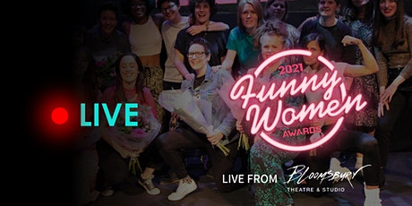 2021 Funny Women Awards Final - Streaming Tickets tickets