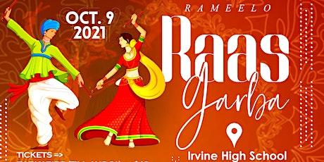Rameelo Raas Garba 2021- Irvine High School tickets