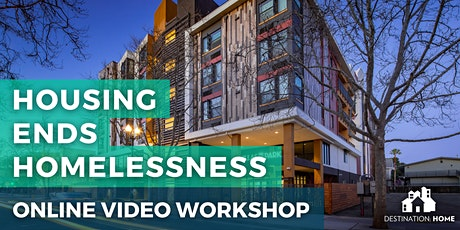 Intro to Homelessness and Supportive Housing (online workshop) tickets