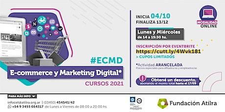 Curso E commerce y Marketing Digital | CET Atilra tickets