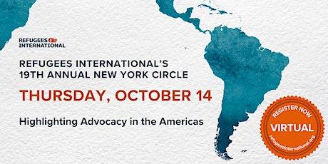 19th Annual New York Circle tickets