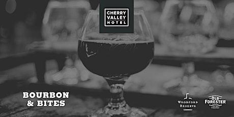 Bourbon & Bites at Cherry Valley Hotel tickets