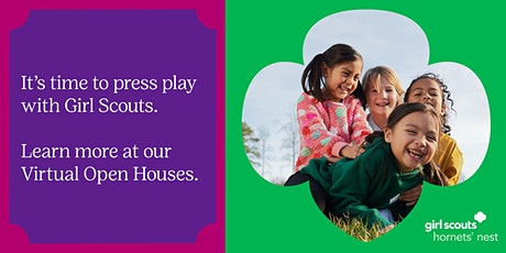 Girl Scouts Virtual Open Houses tickets