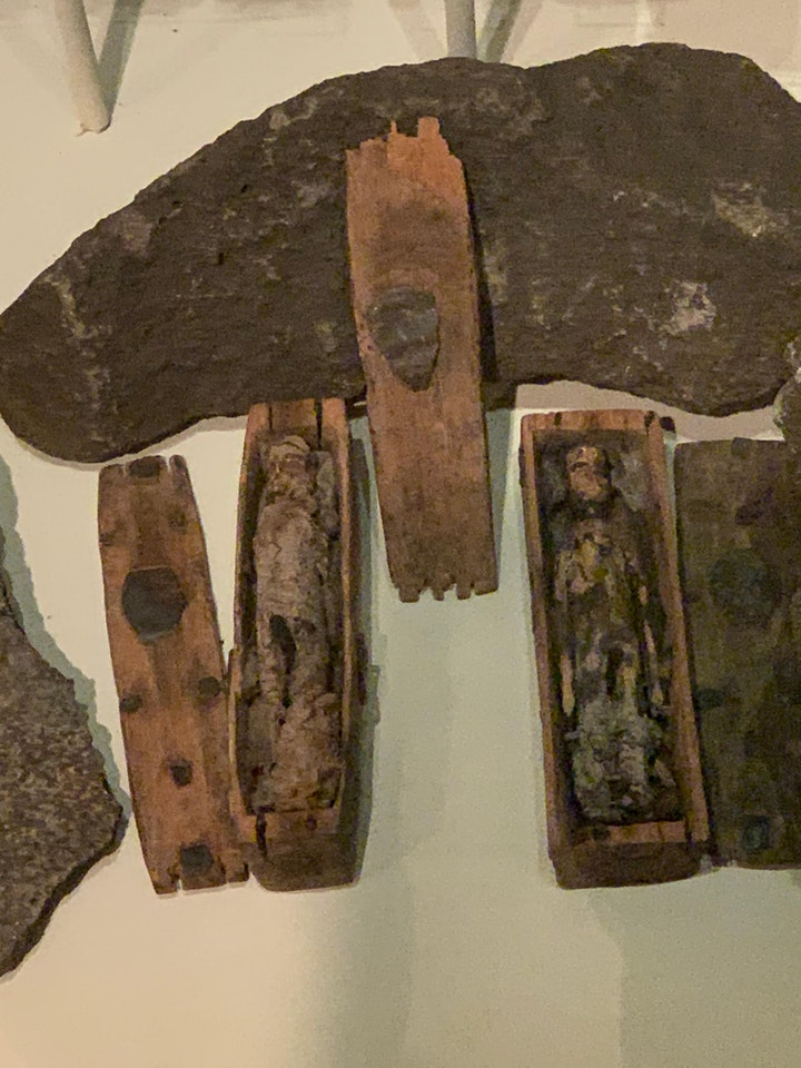 Curious Coffins and Haunted Dolls by Dr Louise Fenton - Zoom Lecture image