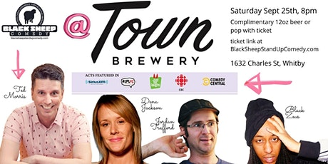 Black Sheep Comedy @ Town Brewery Featuring TED MORRIS! tickets