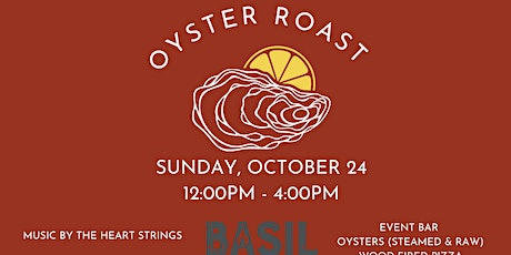 Lowcountry Oyster Roast tickets