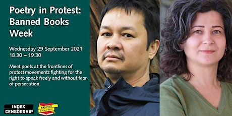 Live Screening of Poetry in Protest: Banned Books Week tickets