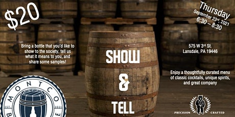 MontCo Barrel and Bottle Show and Tell tickets