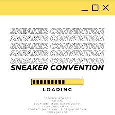 Sneaker Convention tickets