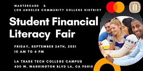 LACCD/MasterCard  Student Financial Literacy Fair tickets
