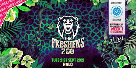 The Freshers Zoo @ Halo Bournemouth | Bournemouth Freshers 2021 tickets