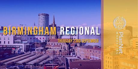 PlanNet Marketing Birmingham Regional tickets