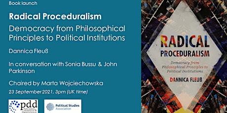 Book launch: Radical Proceduralism by Dannica Fleuß tickets