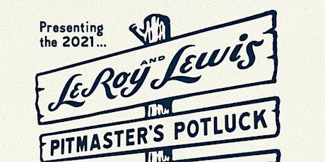 Pitmaster's Potluck 2021 tickets