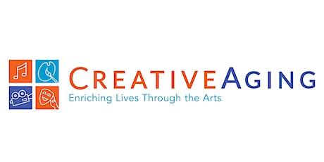 Creative Aging Senior Studio:  Creative Writing with Elaine Blanchard tickets