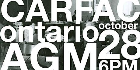 2021 CARFAC Ontario AGM tickets