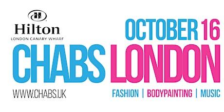 London Fashion Show : Chabs London tickets