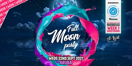 Thai Moon Party @ Aruba | Bournemouth Freshers 2021 tickets