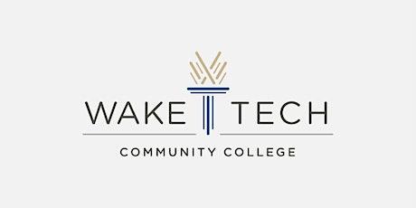 Wake Tech Eastern  Site Outreach tickets