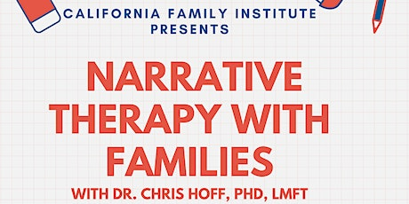 Narrative Therapy with Families tickets