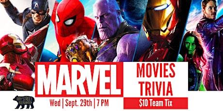 Biergarten Marvel Movies Trivia tickets