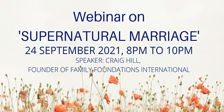 Supernatural Marriage tickets