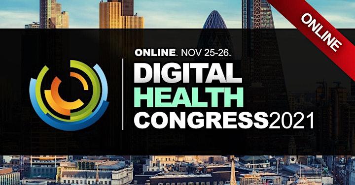 DIGITAL HEALTH CONFERENCES LONDON 2021 image