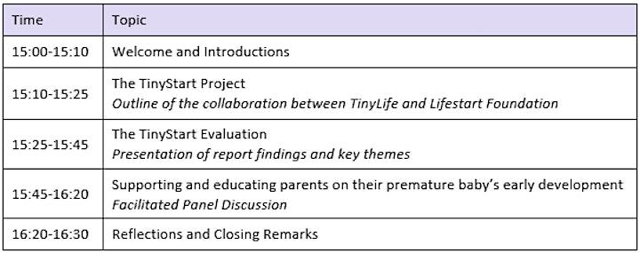 TinyStart Evaluation Report Online Launch image