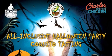 All Inclusive Halloween Party + Coquito Tasting tickets