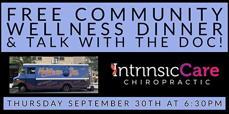Solutions for Stress! FREE Community Wellness Dinner & Workshop tickets