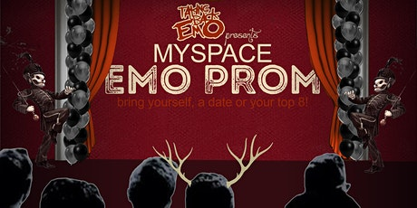 Myspace Emo Prom with Taking Back Emo at Durty Nellie's (Palatine, IL) tickets