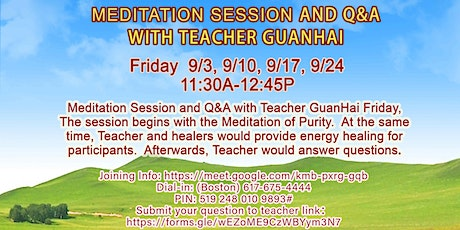 Free Interactive Meditation Session (Online) tickets
