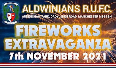 Aldwinians RUFC - Fireworks Extravaganza 2021 tickets