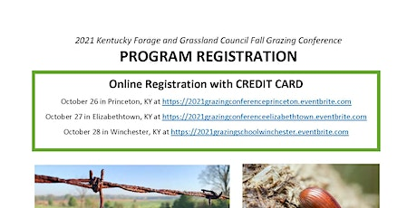 2021 Grazing Conference tickets