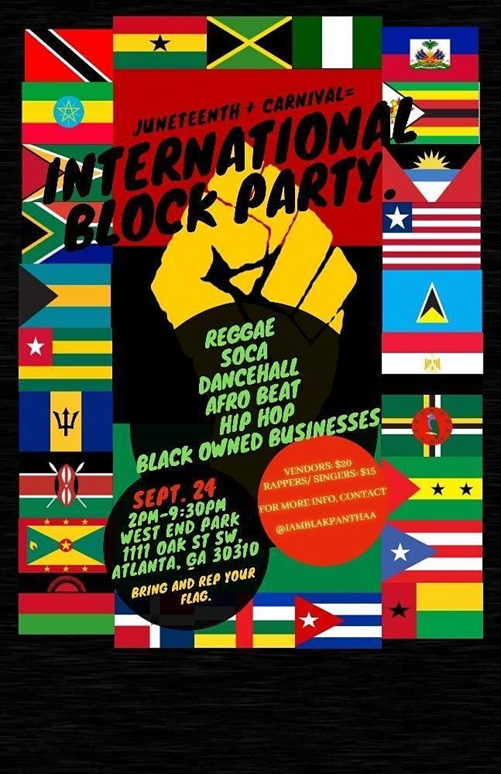 International Block Party - Carnival image