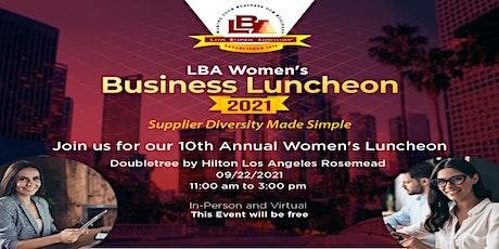 Women's Business Luncheon - Supplier Diversity Made Simple tickets