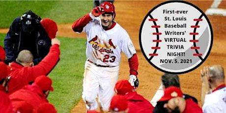 St. Louis Baseball Writers' Virtual Trivia! tickets
