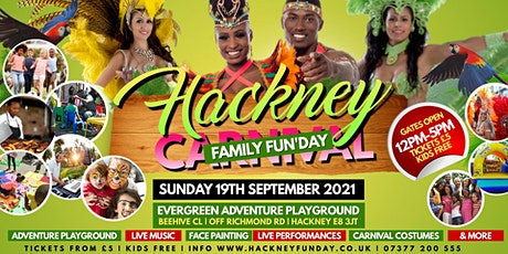 HACKNEY FAMILY FUNDAY | THE CARNIVAL EDITION | 12 NOON - 5PM | KIDS FREE* tickets
