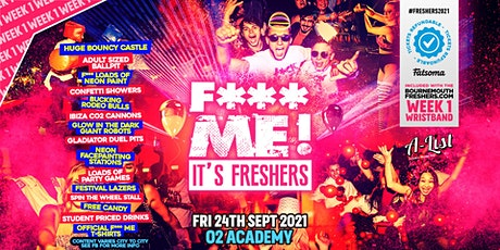 F*CK ME It's Freshers | Bournemouth Freshers 2021 tickets