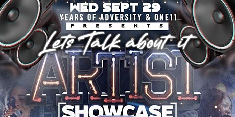 Let's Talk About It Artist Showcase tickets