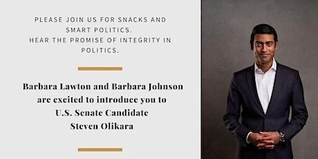 Snacks and Smart Politics tickets
